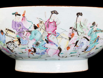 Asia Week NY: Cohen & Cohen Exhibition of Chinese Export Porcelain at Traum Safe
