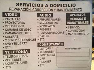 REPARACIONES ELECTRONICAS