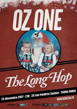 AFFICHE christmasoz one long hop 2017