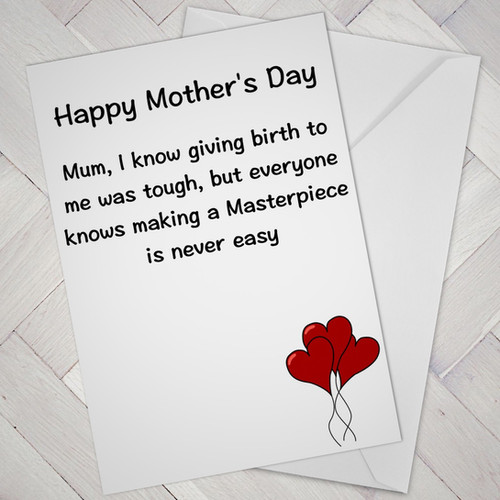 Cheeky monkey greeting cards mum masterpiece m4hsunfo
