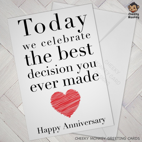 Funny anniversary card this card comes with a quality white envelope and a protective plastic packaging m4hsunfo
