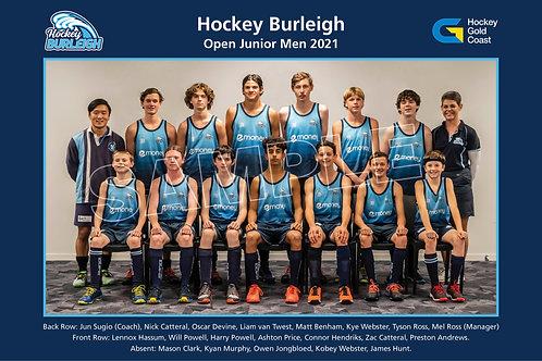 2021 OJ Boys Team Photo