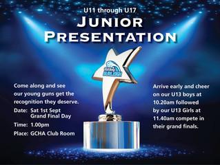 Junior Presentation 2018