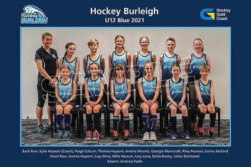 2021 U12 Blue Team Photo