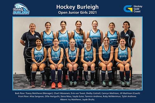 2021 OJ Girls Team Photo
