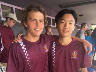 Will and Shu are Australian Champions