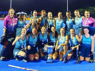 Div 1 Women make it 4 in a row in 2020