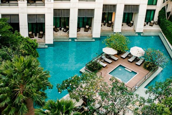 Siam Kempinski Hotel Bangkok_Swimming Pool