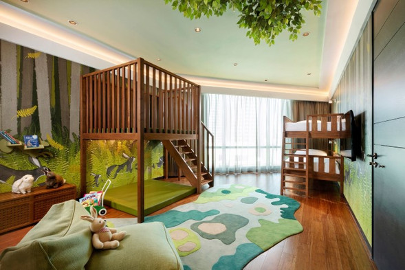 Two Bed Room Themed Family Suite
