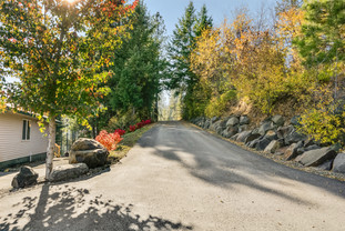 Gated Driveway to Luxury Home