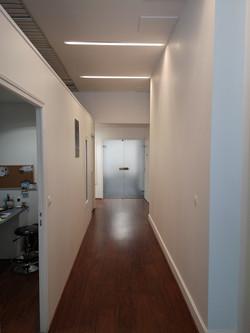 Couloir pour salle 1 et 2 et plateau