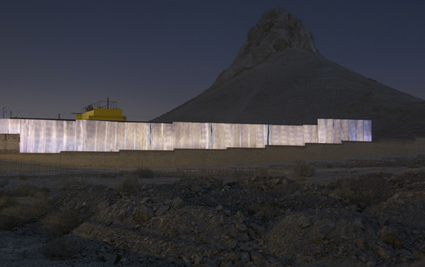 Vahid Valikhani, City of Turquoise Domes
