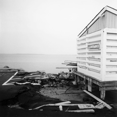 Entrance (after Florence), Atlantic Beach, NC