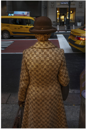 Billy Delfs, Woman and Coat