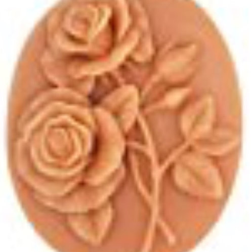 SMALL OVAL FLORAL BAR
