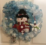 SNOW ANY MAN_ WREATH