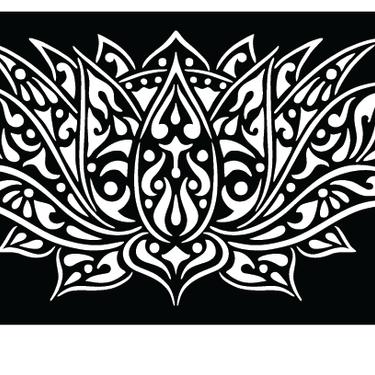 lotusflower_75%_laser_cut_screens_sydney