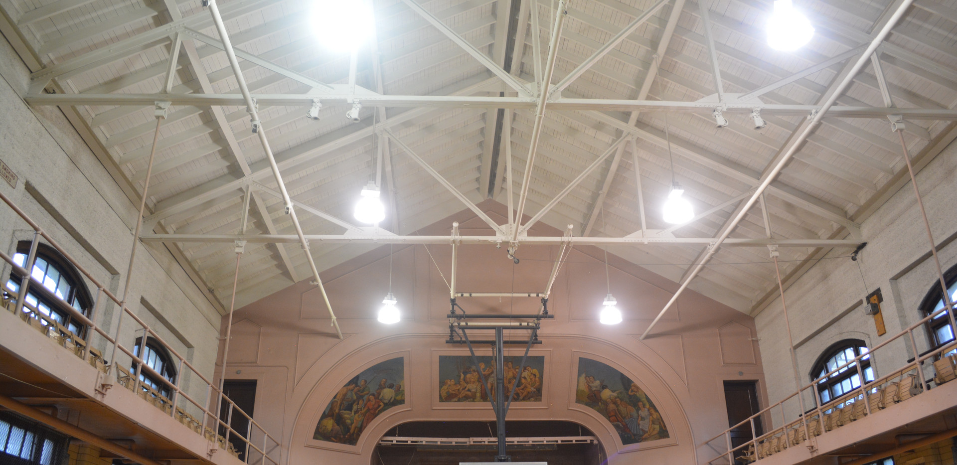Grand Crossing Park Fieldhouse Interior