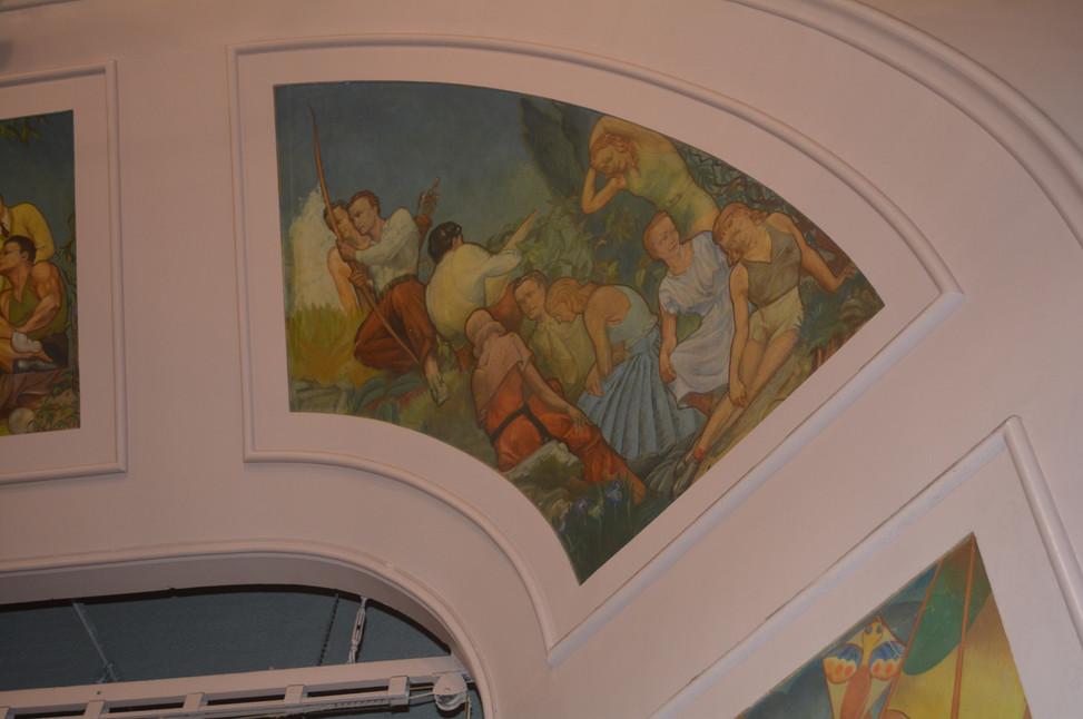 Grand Crossing Park Fieldhouse Interior