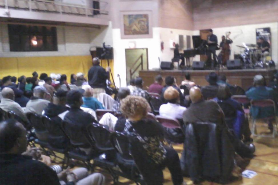 jazz concert Grand Crossing Park Oct 10