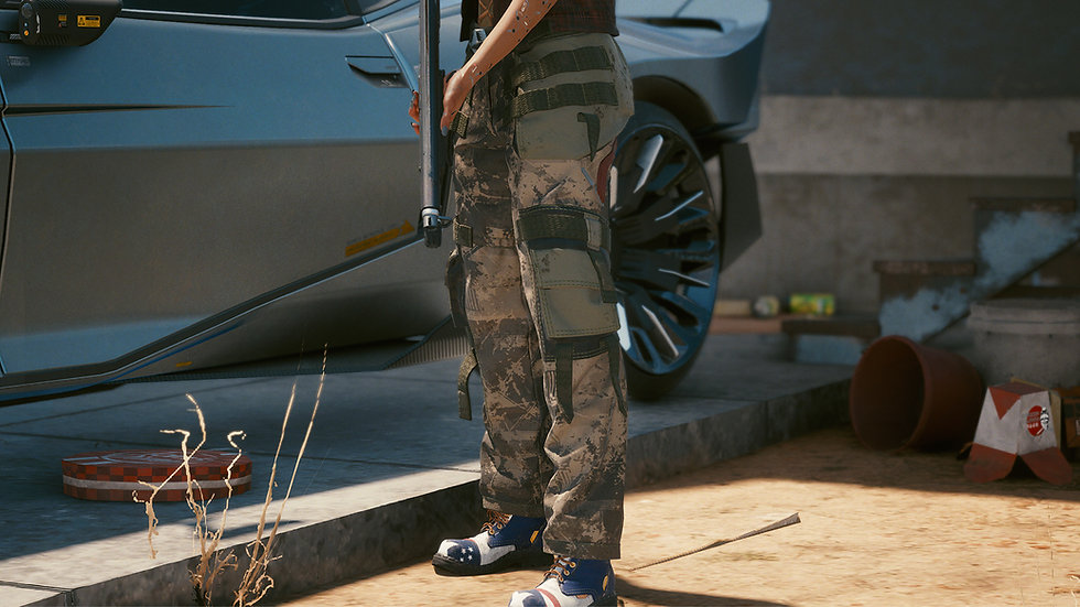 Army Star Anti-Chafing Cargo Pants