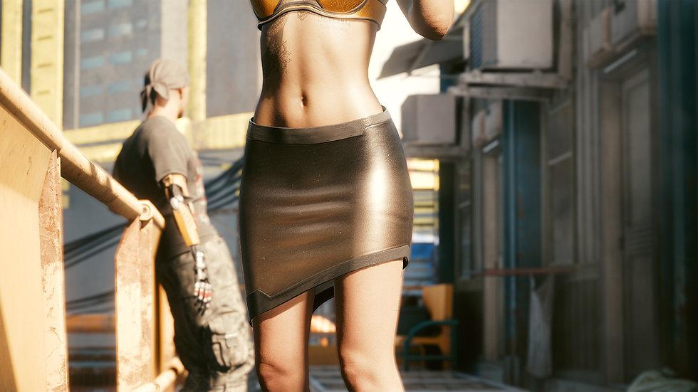 Heise Trilayer Formal Skirt