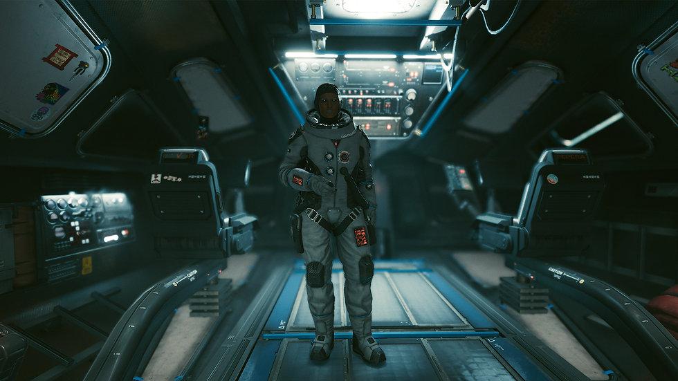 Arasaka Space Suit