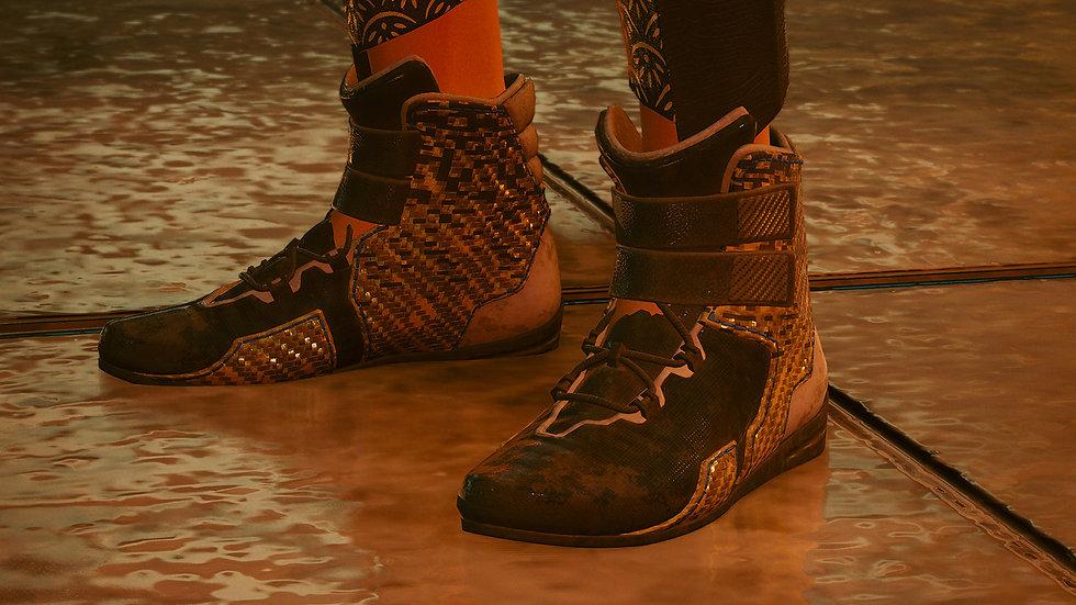 Team Captain Rigid-Polyamide Athletic Shoes