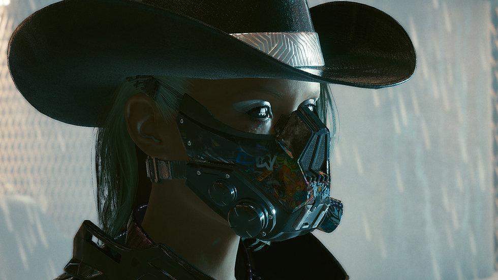 Titanium-Reinforced Gas Mask