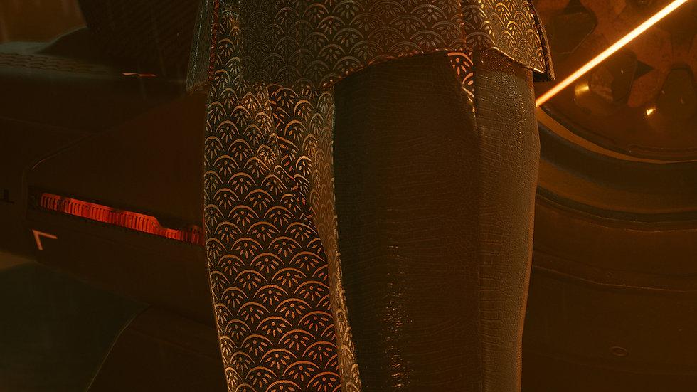 Royal Gray Aramid-Weave Dress Pants