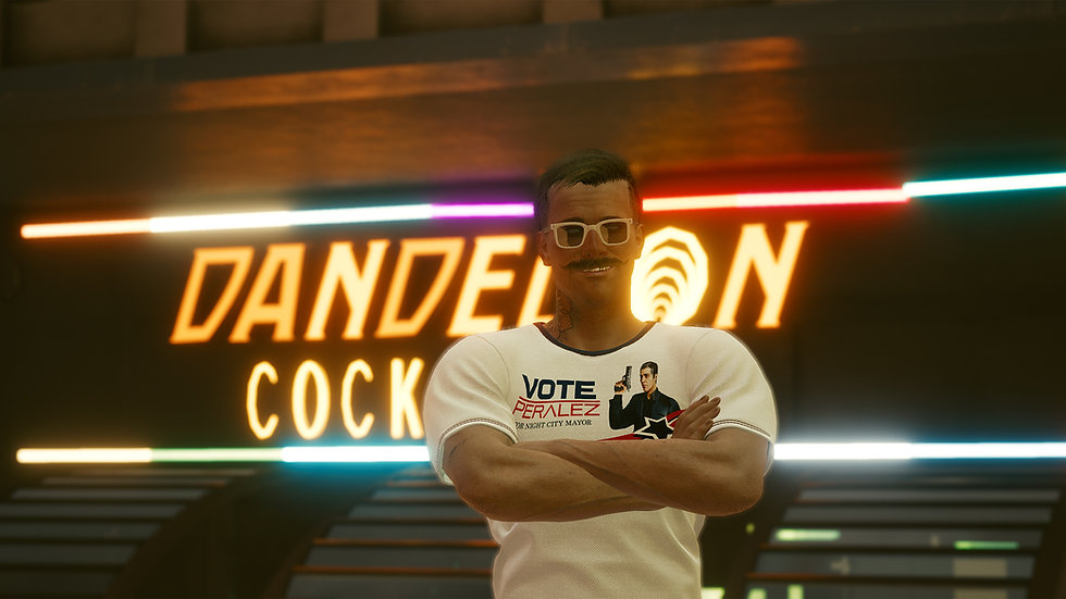 Peralez Campaign Shirt