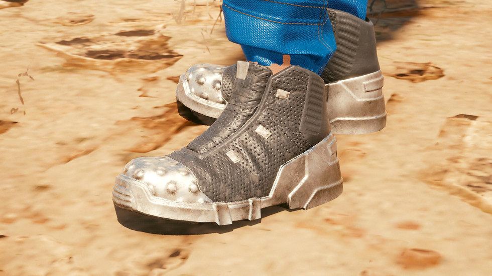 Sturdy Manganese Steel-Toes