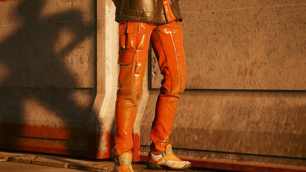 Mandarine Resistant Cargo Pants