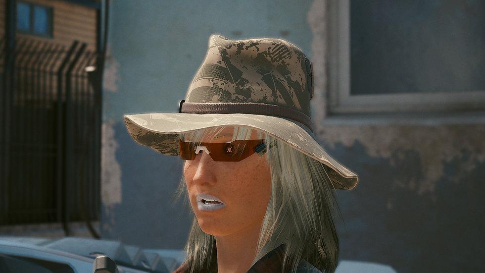 Duolayer Military Cap with Gauge