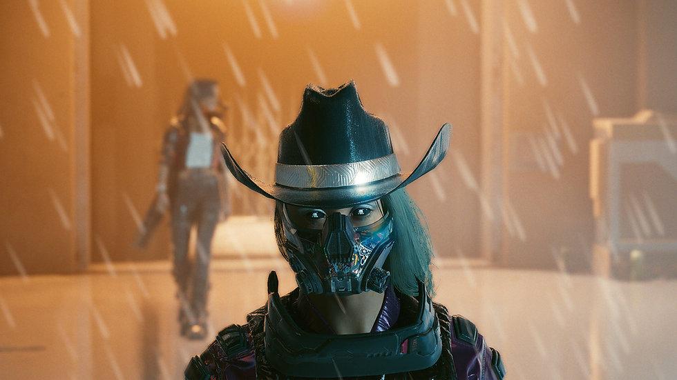 Gunslinger Cowboy Hat with Reinforced Lining