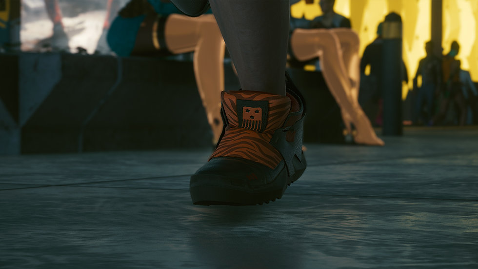 Rigid Tigre Urbain Street Shoes