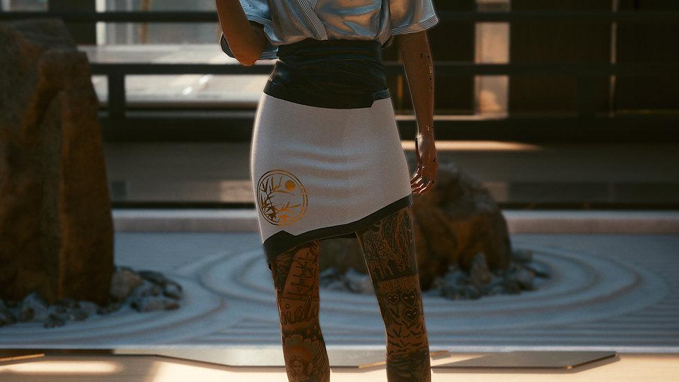 Saeko's Limited Elegant Duoweave Skirt