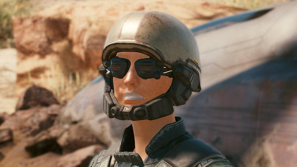 Veteran's Helmet