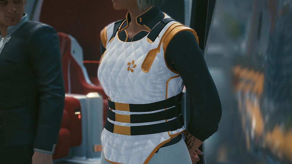 Saeko's Prototype Tactical Aramid Breastplate