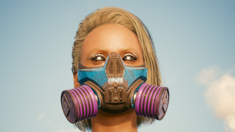 Mox Gas Mask with Custom Protective Layer