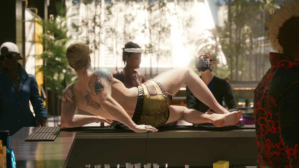 Composite Ko Jaga Silk-Threaded Hotpants