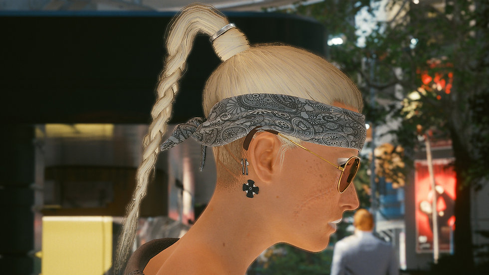 Simple Bandana Headband with Enhanced Durability