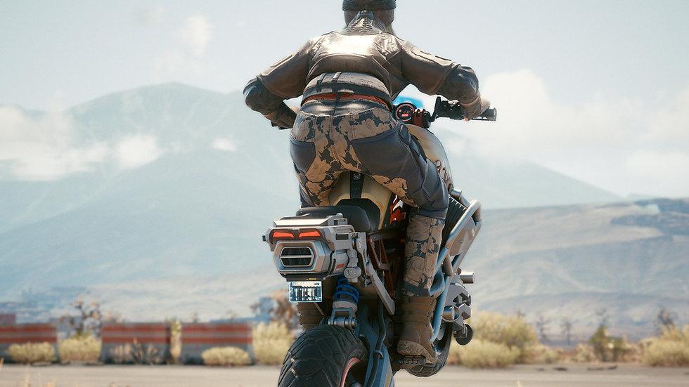 Heavy-Duty Oro Floreciente Armor-Weave Cargo Pants