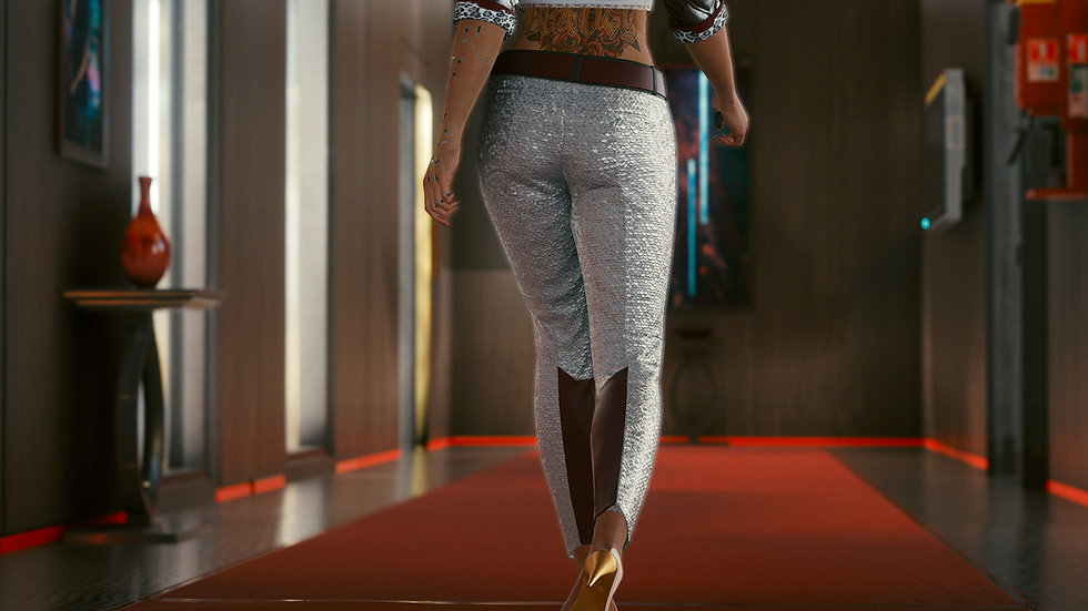 Bai Long Formal Pants with Reinforced Neo Silk