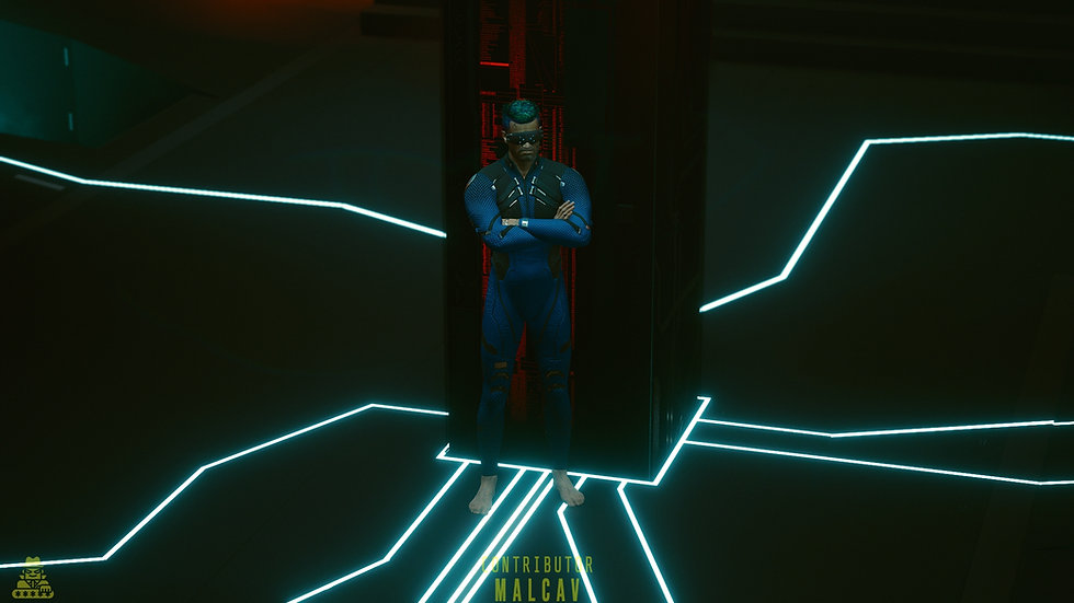 Light Elastomer Netrunning Suit