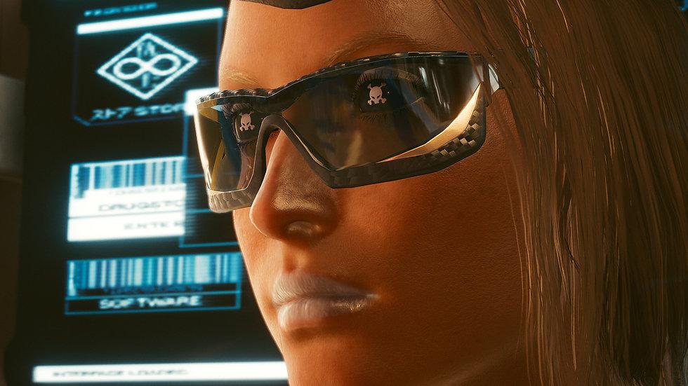 Darker Speed Square Glasses