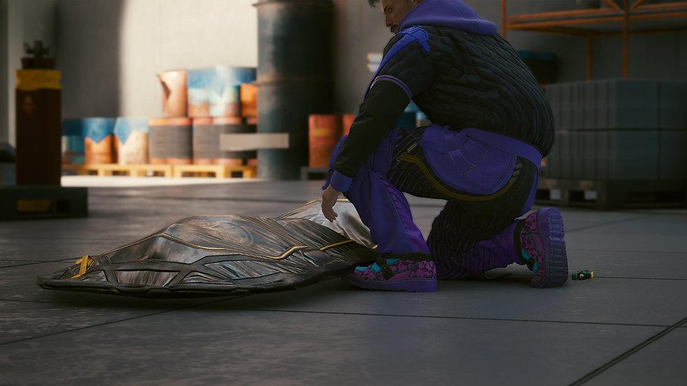 Purple Shock Anti-Mech Cargo Pants