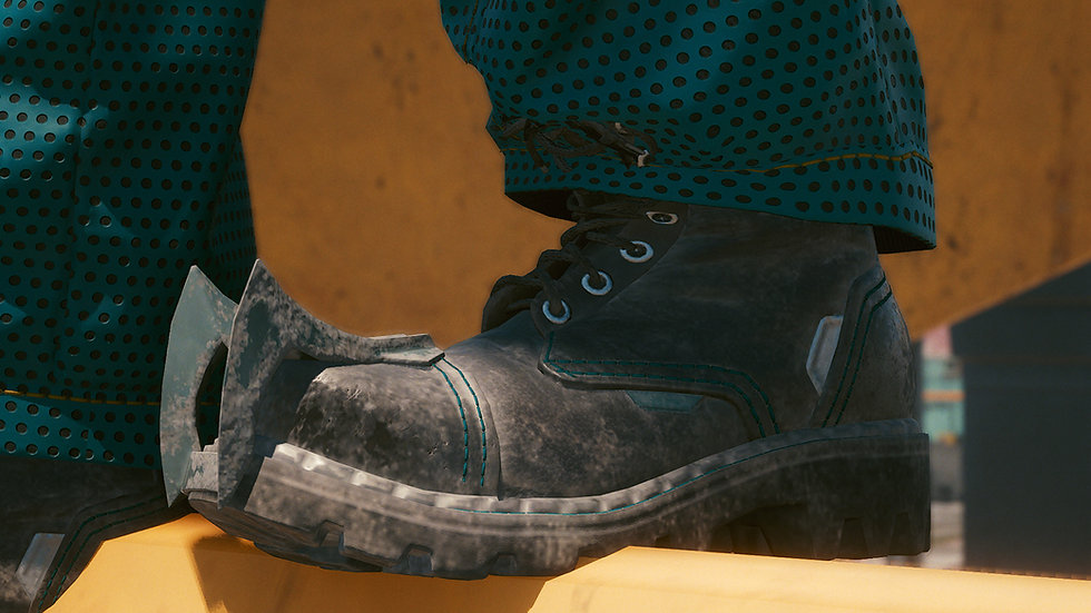 Titanium Fitted Polyamide Combat Boots
