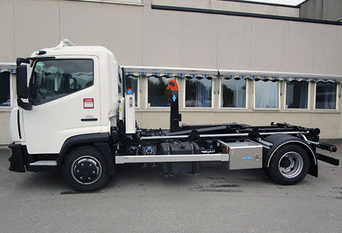 Liten Renault krokløftbil