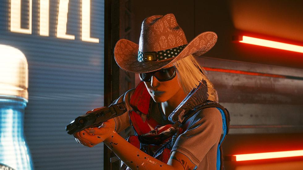 Modified Snake-Skin Cowboy Hat